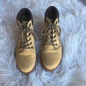 Aldo Heeled Work Boots - Like NEW